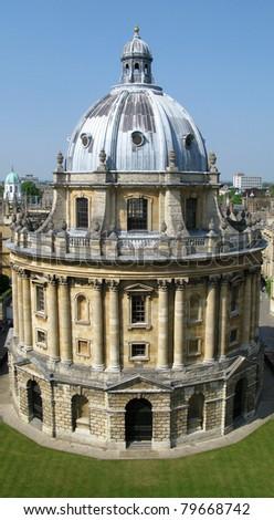 Oxford radcliffe camera, university library - stock photo