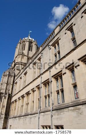 Oxford University College, Oxford, UK - stock photo