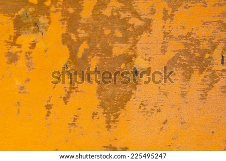 Oxidized metal surface making an abstract texture - stock photo
