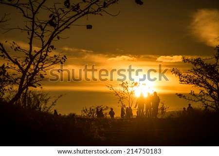 Pa Tam National Park in the Ubon Ratchathani province , Thailand - stock photo