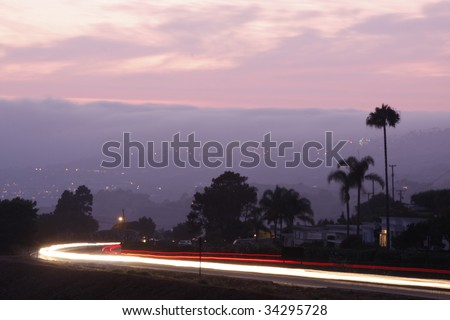 Pacific Coast Highway - stock photo