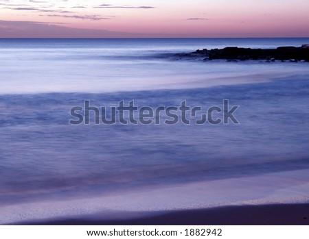 Pacific Sunrise, Sydney, Australia - stock photo