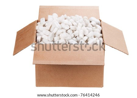 packing up, moving out - stock photo