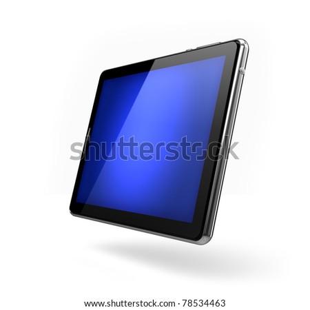 Pad - blank screen - stock photo