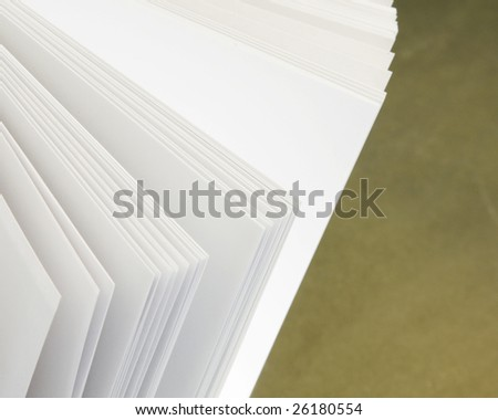 pages of a open book - stock photo