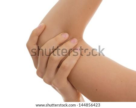 pain - stock photo