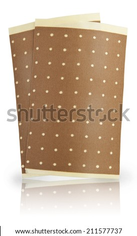 pain patch - stock photo