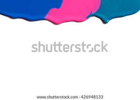 Paint .  - stock photo