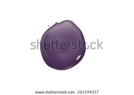 Paint Blob - stock photo