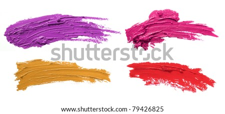 paint brush with high detailed texture - stock photo