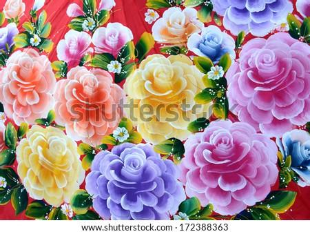 Paint Colors Thailand Paint Color Umbrellas Thai