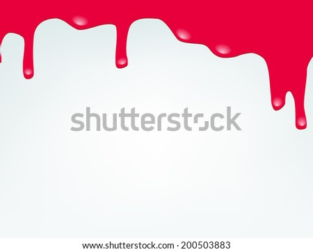 Paint colorful dripping background - stock photo