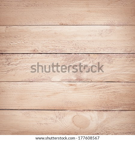 painted brown wooden planks texture - stock photo
