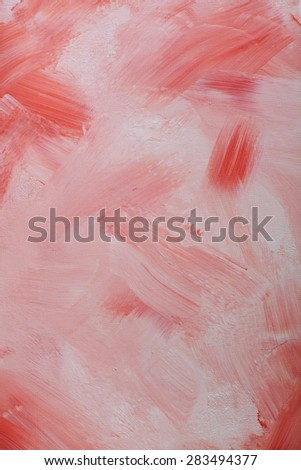 painted canvas with texture of both showing.my own creation. - stock photo