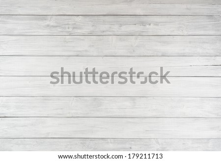 Painted Plain Gray or White Rustic Wood Board Background that can be either horizontal or vertical.   Blank Room or Space for copy, text, words.  Color photo. - stock photo
