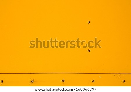 Painted Steel Plate - stock photo