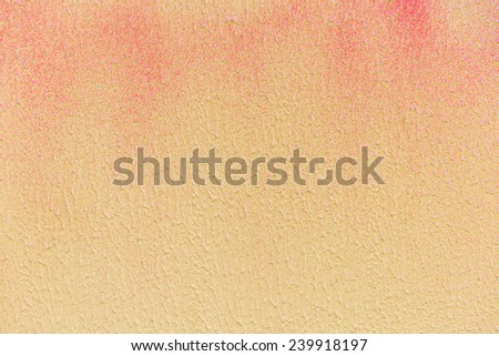 Painted wall can be used as background - stock photo