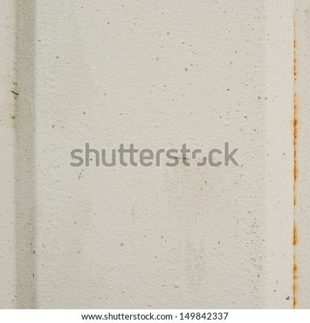 Painted white metal sheet as an abstract background texture - stock photo