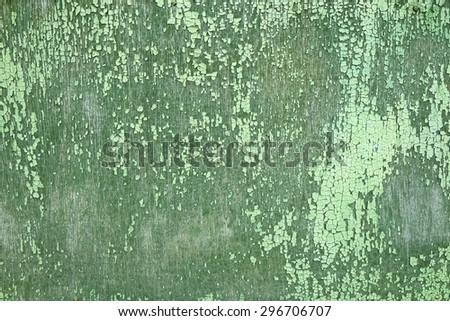 painted wood background, aqua, vertical - stock photo