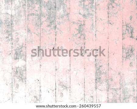 Painted wood background pink - stock photo