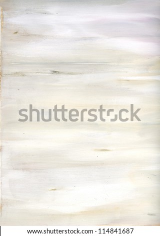 Painted wood surface texture-WHITE - stock photo