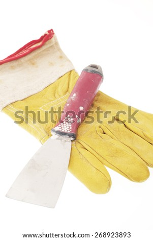 Painter tools - stock photo