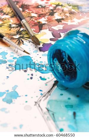 Painting - stock photo