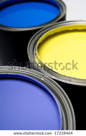 Painting Cans - stock photo
