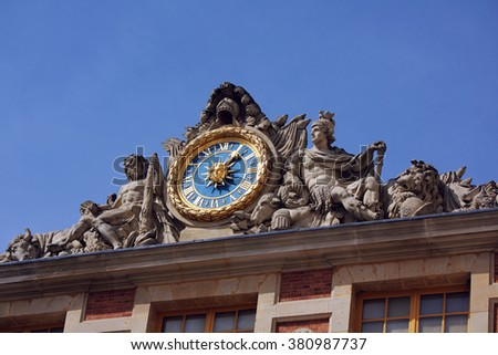 palace of versailles - stock photo