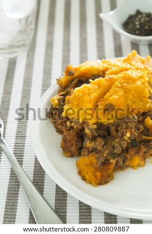 Paleo Shepards Pie - stock photo