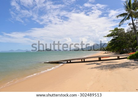 Palm Cove, Cairns, Queensland, Great Barrier Reef, Australia -3 - stock photo