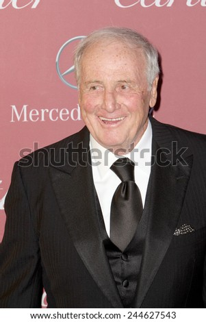 PALM SPRINGS, CA - JAN 3:  Jerry Weintraub arrives at the 2015 Palm Springs International Film Festival Awards Gala at the Palm Springs Convention Center on January 3, 2015 in Palm Springs, CA. - stock photo