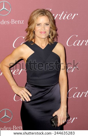 PALM SPRINGS, CA - JAN 3: Kim Dickens arrives at the 2015 Palm Springs International Film Festival Awards Gala at the Palm Springs Convention Center on January 3, 2015 in Palm Springs, CA. - stock photo