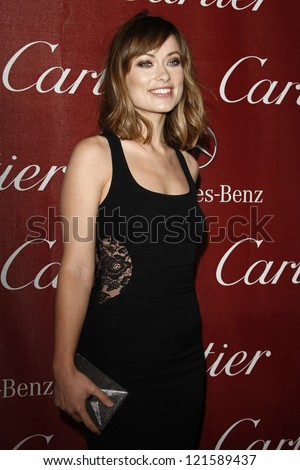 PALM SPRINGS, CA - JAN 7: Olivia Wilde at the 23rd Annual Palm Springs International Film Festival Awards Gala at the Palm Springs Convention Center on January 7, 2012 in Palm Springs, California - stock photo