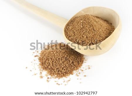 palm sugar - stock photo