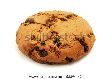 Pandolce basso on a white background - stock photo