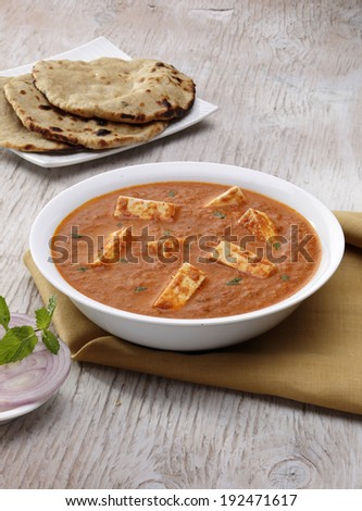 Paneer Tikka Masala, Curry, Indian food, India - stock photo