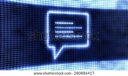 Panel Chat - stock photo
