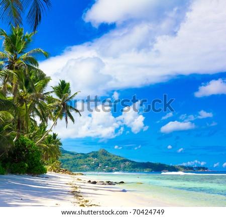 Panorama Bay Dream - stock photo