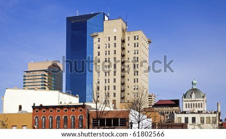 Panoramic Lexington, Kentucky, USA. - stock photo