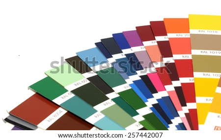Panton colored inks for printing - stock photo