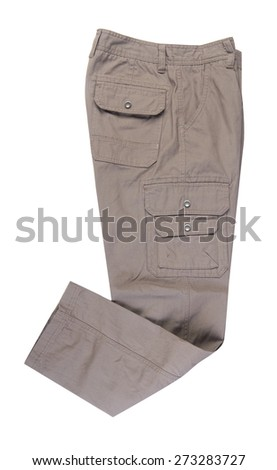 pants. man pants on background - stock photo