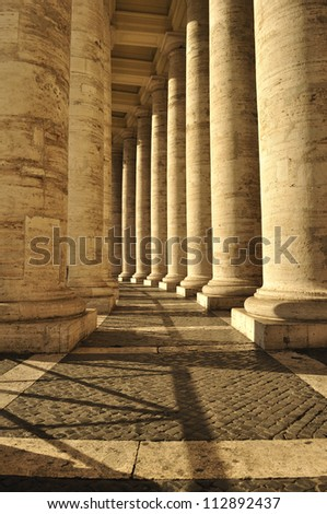 Papal Basilica of Saint Peter in the Vatican - stock photo