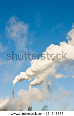 Paper industry - stock photo
