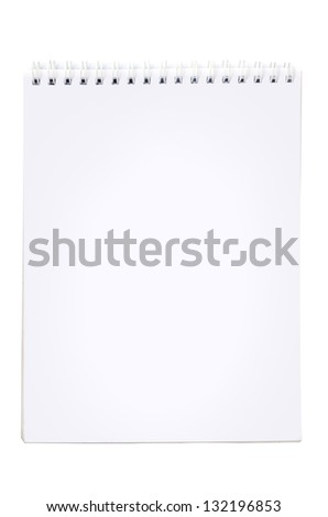 Paper Note Pad - stock photo