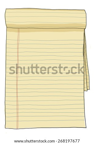 paper note vintage - stock photo