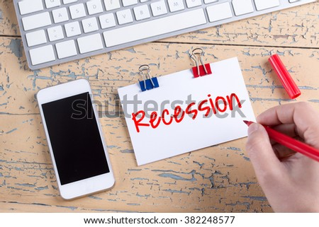 Research paper on the recession