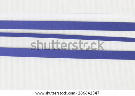 paper stripes - stock photo
