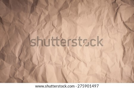 Paper texture - brown paper sheet. - stock photo