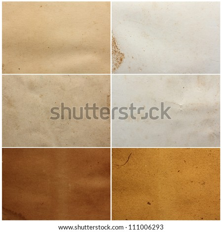 Paper texture. Collection background template for design work - stock photo